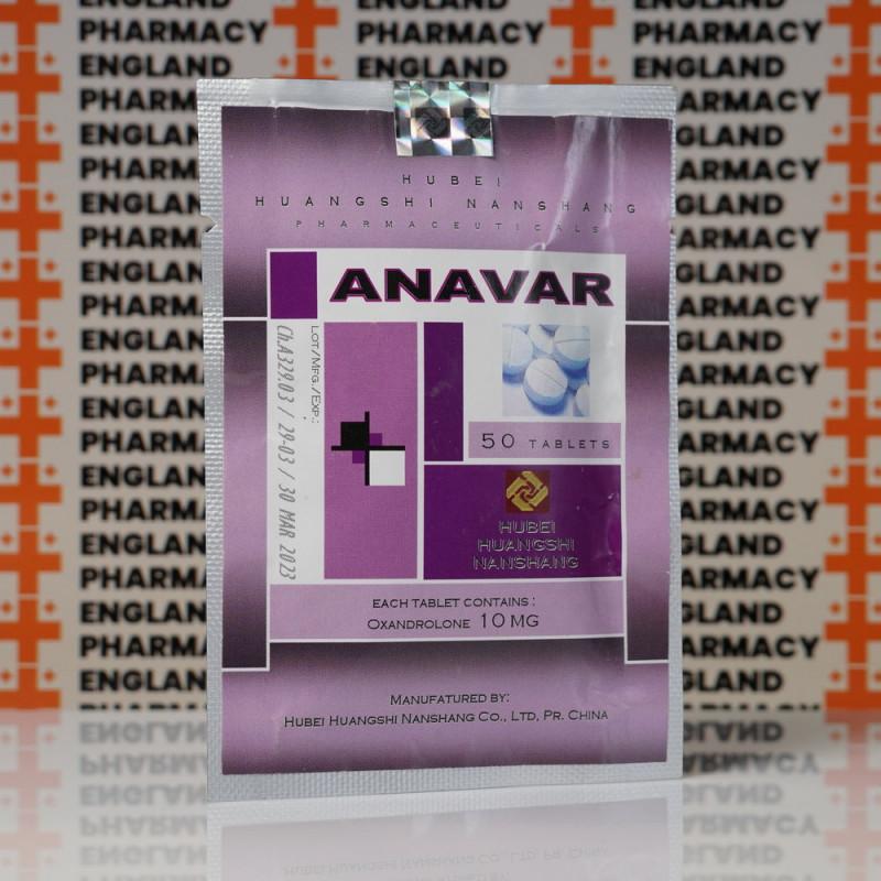 Anavar (Oxandrolone) 10 mg Hubei Huangshi Nanshang   EPC-0195