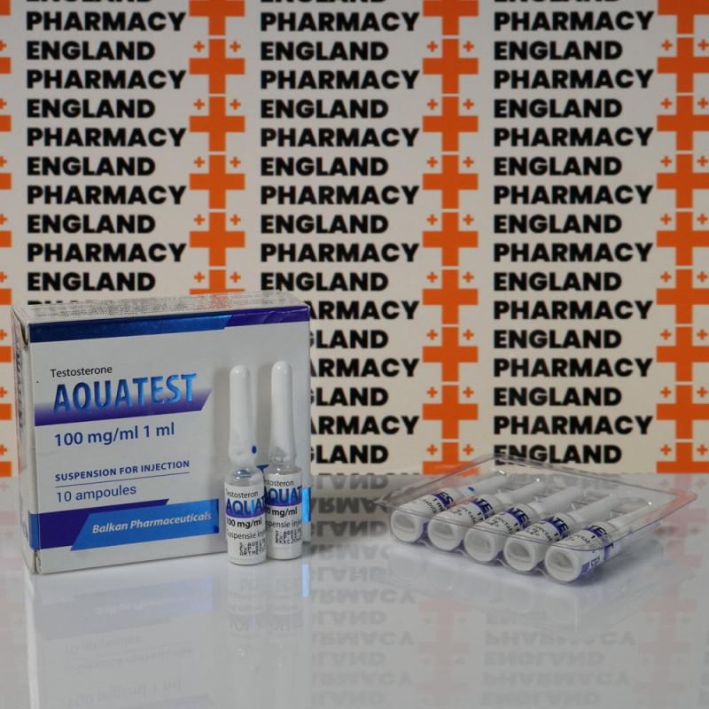 Aquatest 100 mg Balkan Pharmaceuticals   EPC-0083