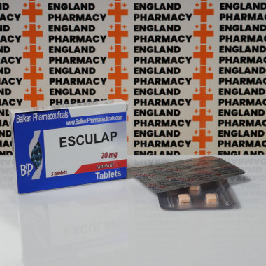 Esculap 20 mg Balkan Pharmaceuticals