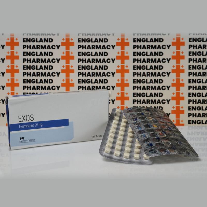Exos 25 mg Pharmacom Labs | EPC-0283