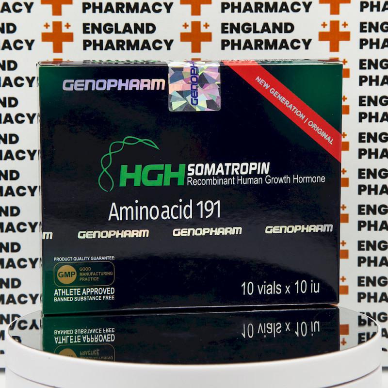 HGH Somatropin Amino acid 191 10 IU Genopharm | EPC-0290