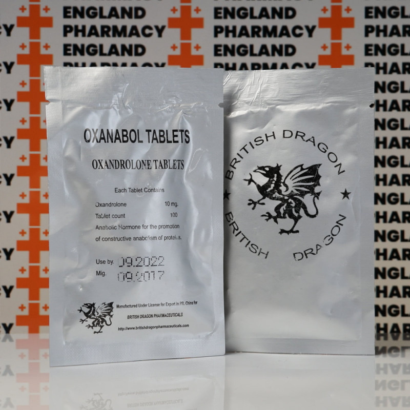Oxanabol 10 mg British Dragon Pharmaceuticals   EPC-0196