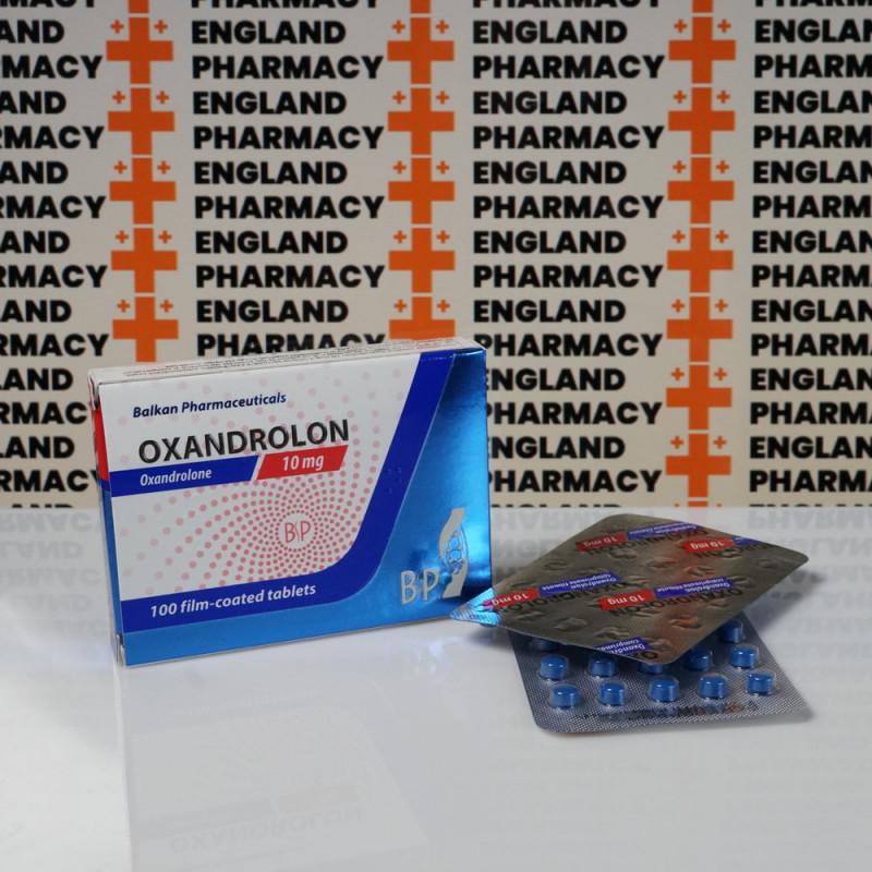 Oxandrolon 10 mg Balkan Pharmaceuticals | EPC-0037
