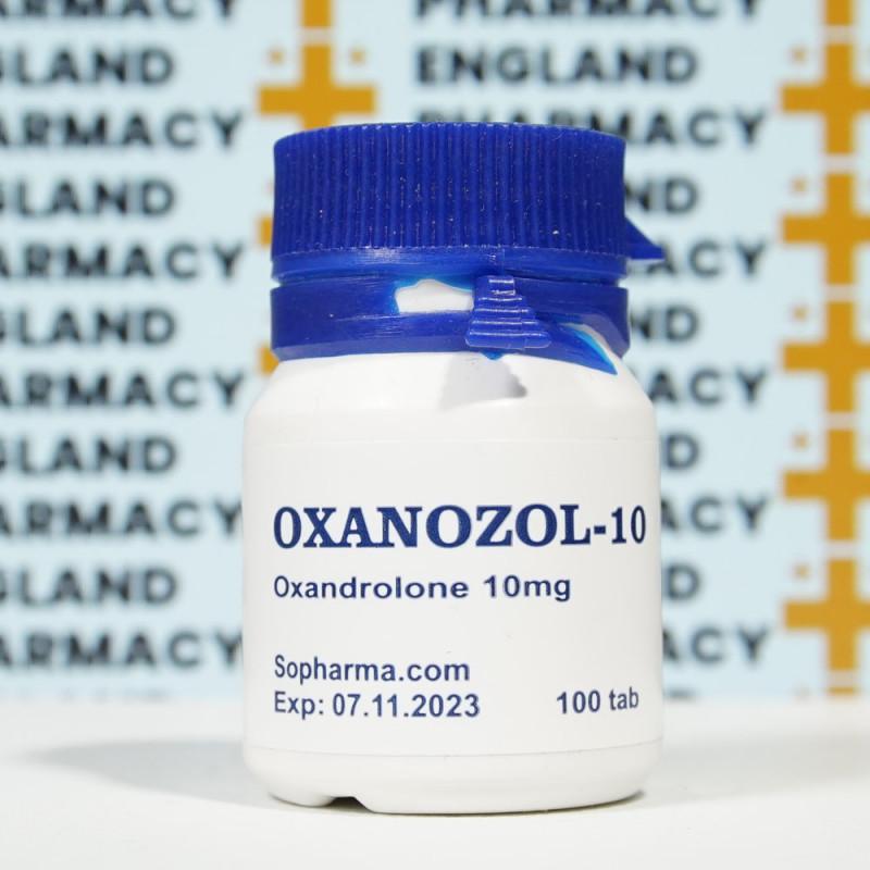 Oxanozol 10 mg Sopharma   EPC-0055