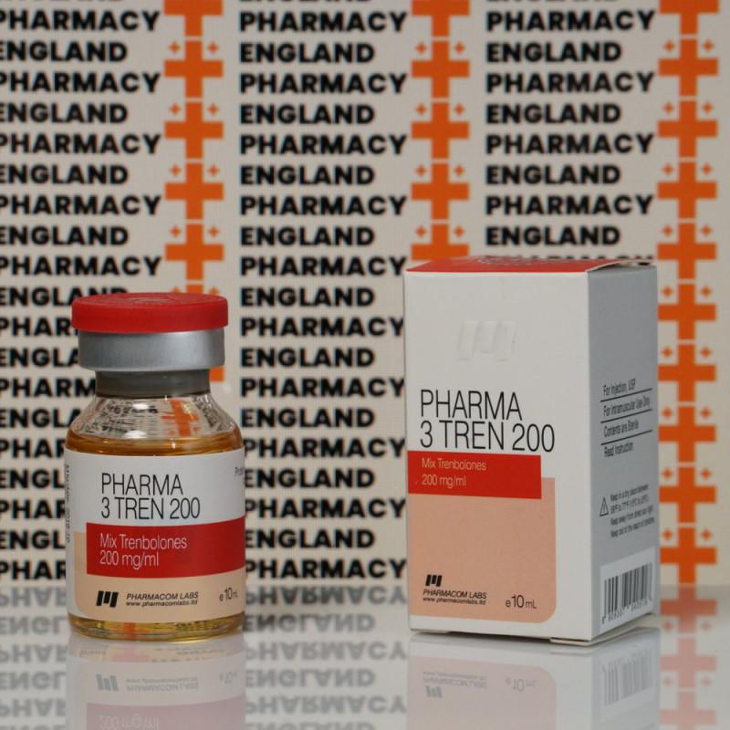 Pharma 3 Tren 200 mg Pharmacom Labs | EPC-0035