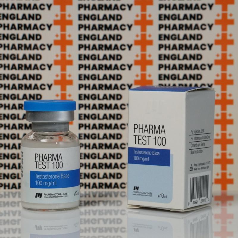 Pharma Test100 (Aquatest) 100 mg Pharmacom Labs   EPC-0085