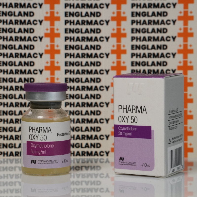 PharmaOxy 50 mg Pharmacom Labs | EPC-0091