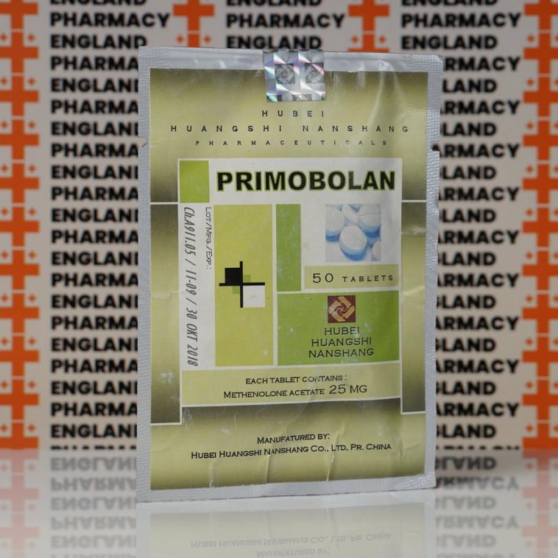 Primobolan (Methenolone Acetate) 25 mg Hubei Huangshi Nanshang | EPC-0030