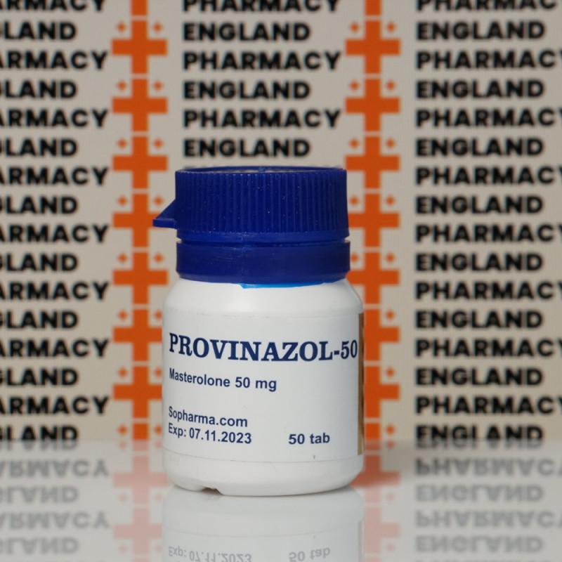 Provinazol (Proviron) 50 mg Sopharma   EPC-0016