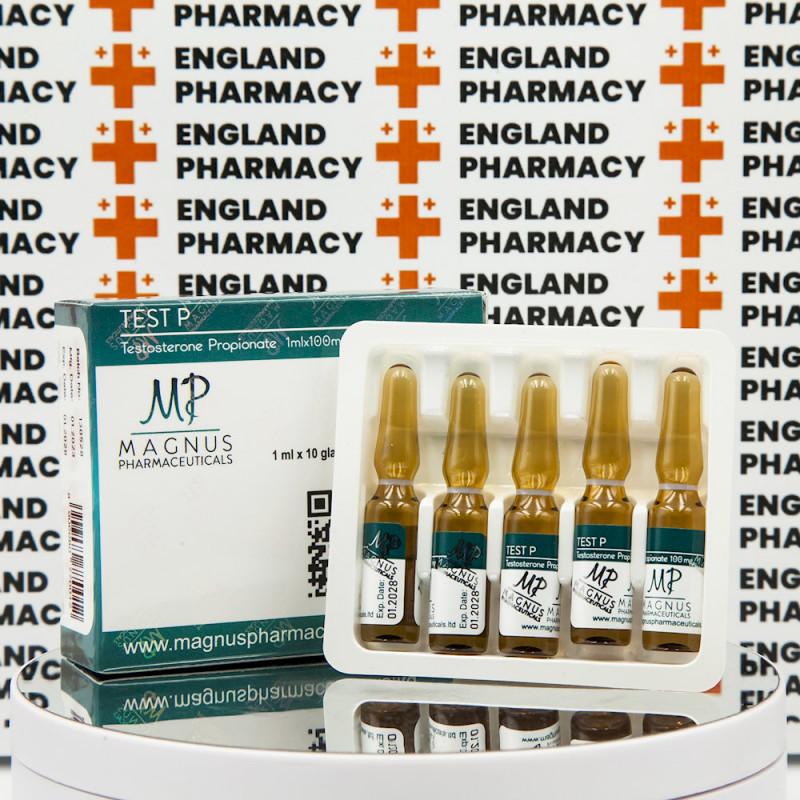 Test P ( Testosterone Propionate) 100 mg Magnus Pharmaceuticals   EPC-0262