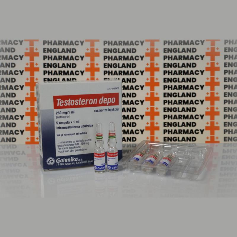 Testosteron Depo (Testosteron Enanthato) 250 mg Galenika | EPC-0156