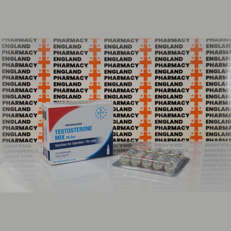 Testosterone Mix 250 mg Euro Prime Farmaceuticals | EPC-0274